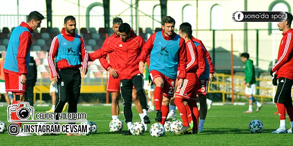 Lider Somaspor, Erbaaspor Maç Saatini Beklemeye Başladı
