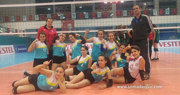 Sotesspor Yıldız Bayanlarda Yarı Finale Çıktı.