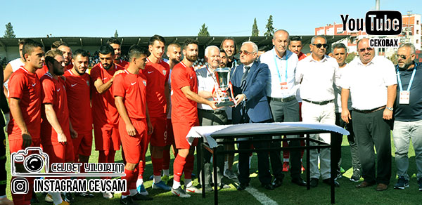 Şampiyon Somaspor 2.Lig Kupasını Mehmet Ali Özkanın Elinden aldı