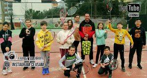 Soma Tenis Kulübüne İlgi Bir Hayli Fazla