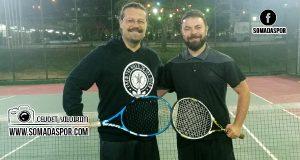 Soma Tenis Turnuvasında Start Verildi