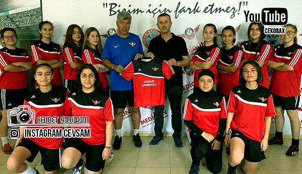 Pazarcılar Dernek Başkanı Coşkun Çayıroğlu'ndan Zafer Spora Destek