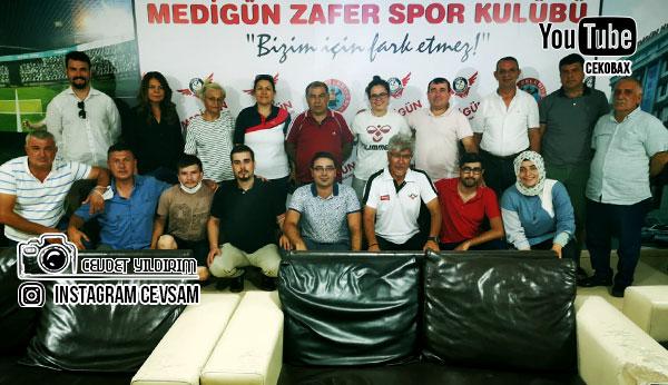 Zafersporda Genel Kurul Üyeleri Hakan Arslancan ile Devam Dedi