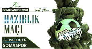 Somaspor 2.Hazırlık Maçını Altınordu FK İle  Oynadı