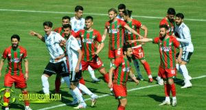 Somaspor-Cizrespor Maçının Fotoları