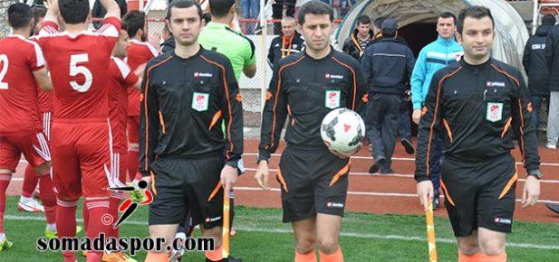 Somaspor-Yalova Kadıköyspor Maçının Hakemleri Değişti