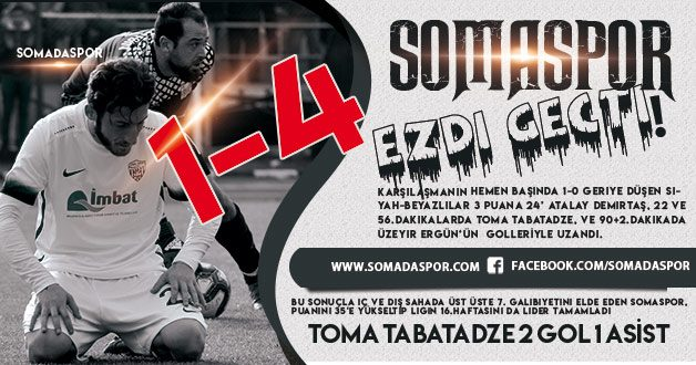 Orhangazi Belediyespor 1-4 Somaspor (Video)