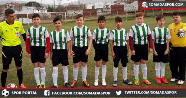U-12 Ligi: Sotesspor, Turgutalp Gençlikspor Maçında 9 Gol Atıldı.