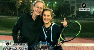 Tenis Turnuvasında 2.Tur ve Çeyrek Final Maçları