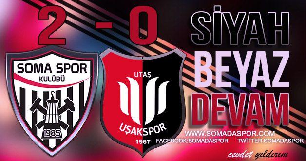 Utaş Uşakspor 0-2 Somaspor
