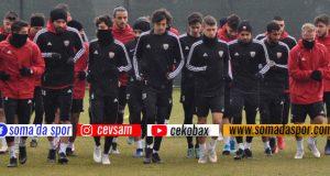 Somaspor, Yalovaspor Hazırlıklarını Tamamladı