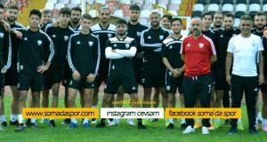 Somaspor'lu Futbolcunun Çapraz Bağları Koptu