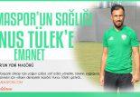 Futbolcuların Sağlığı Yunus Tülek'e Emanet