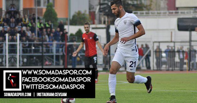 """Somaspor, Ödemiş'te Liderliğini """"Demir""""ledi:0-2"""