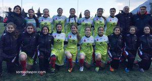 Zaferspor'lu Yıldız Kızlar Abarttı:19-0