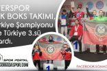 Zafer Spordan Türkiye Şampiyonu