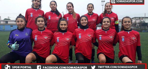 Zaferspor'lu Yıldız Kızlar Çok Farklı:29:0