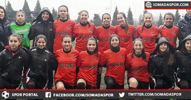 Zaferspor'lu Yıldız Kızlarımız, Horozkentspor'a Direnemedi:0-3