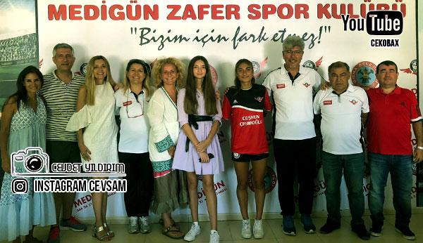 Zaferspor'lu Kızlar Geleceğe Gol Atacak.