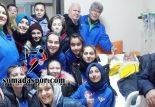 Zaferspor Bayan Futbol Takımı, Levent Analı'yı Ziyaret Etti.
