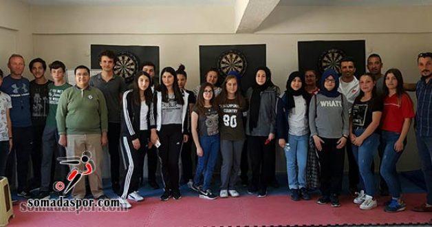 Dart Şampiyonasına Soma Anadolu Lisesi Damga Vurdu.